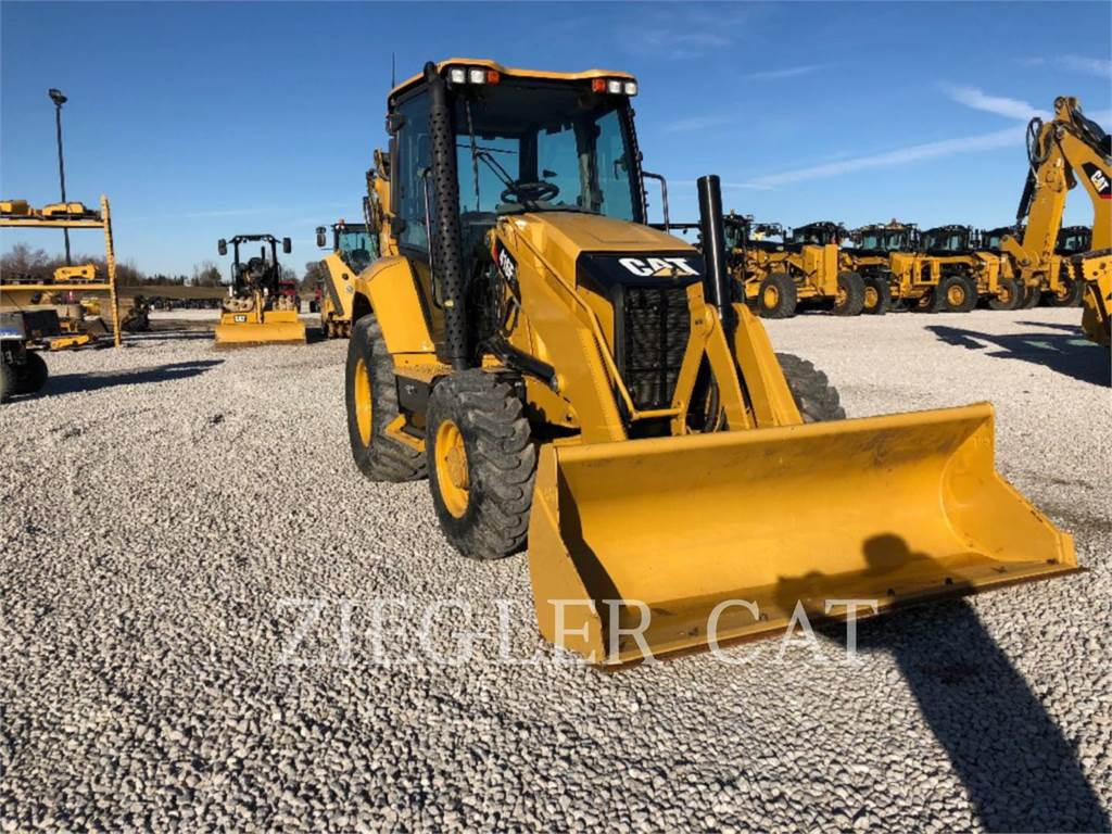 Caterpillar 416F2H2, backhoe loader, Construction