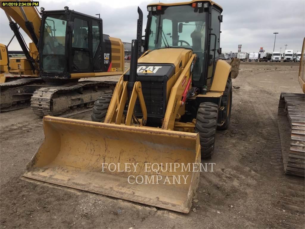Caterpillar 416F2ST, chargeuses-pelleteuses, Équipement De Construction