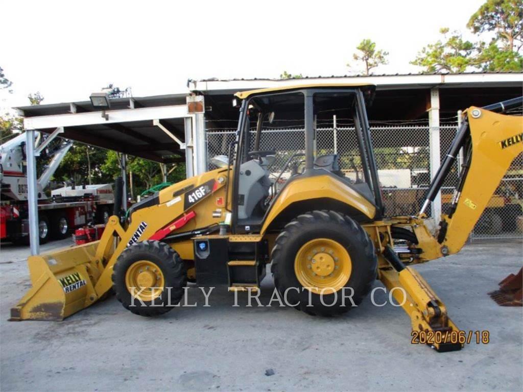 Caterpillar 416F2ST, retroexcavadoras cargadoras, Construcción