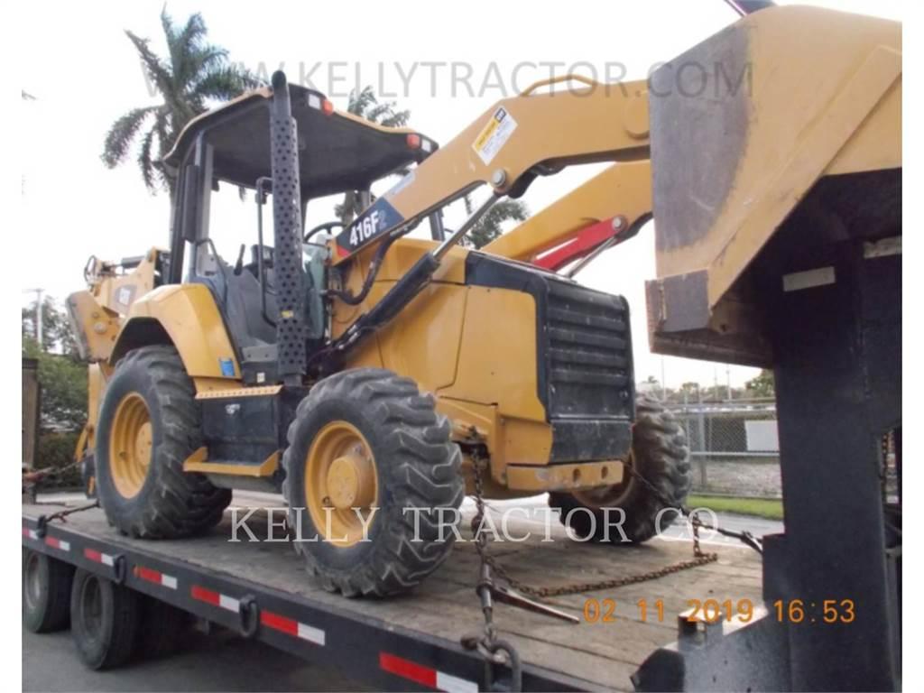 Caterpillar 416F2ST、バックホーローダ、建設