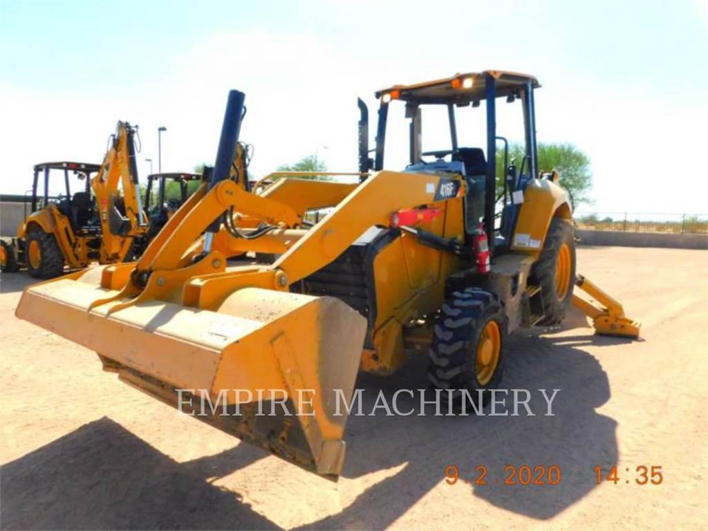 Caterpillar 416F2ST, backhoe loader, Construction