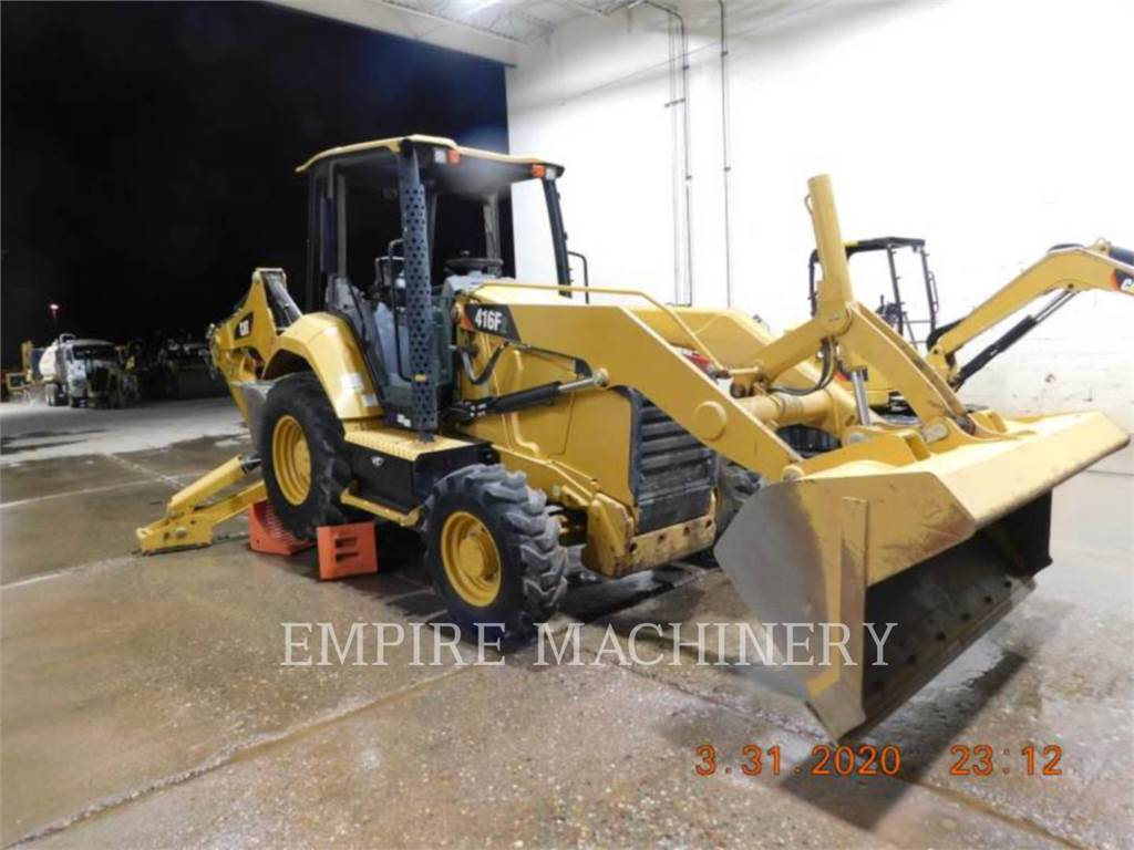Caterpillar 416F2ST, backhoe loader, Construction