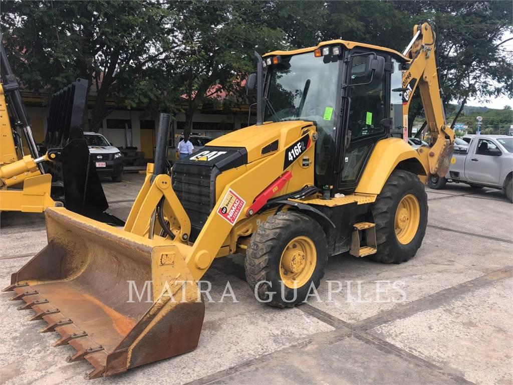 Caterpillar 416F2STLRC, buldoexcavatoare, Constructii