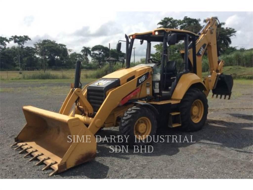 Caterpillar 416F2STLRC, baggerlader, Bau-Und Bergbauausrüstung