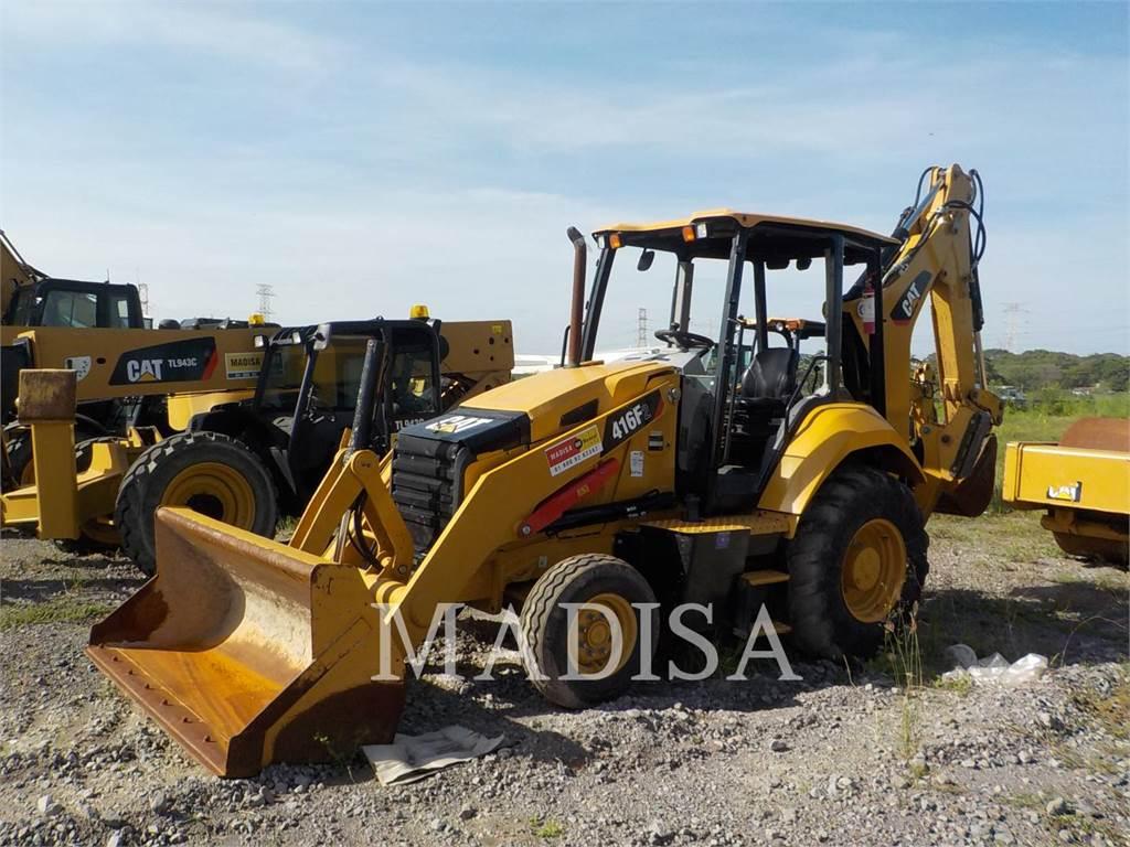 Caterpillar 416F2STLRC、バックホーローダ、建設