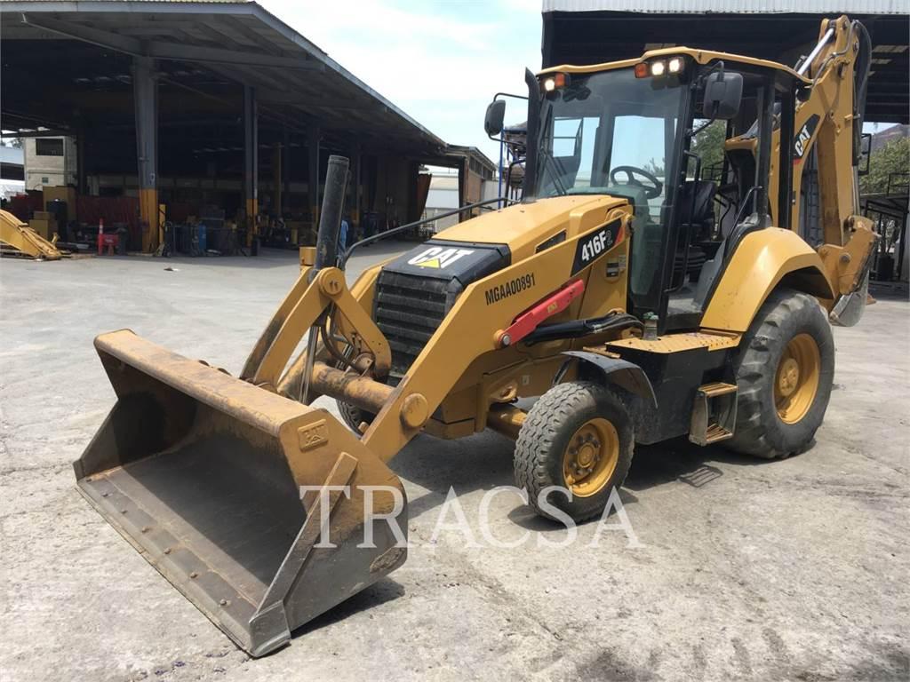 Caterpillar 416F2STLRC, retroescavadeiras, Equipamentos Construção