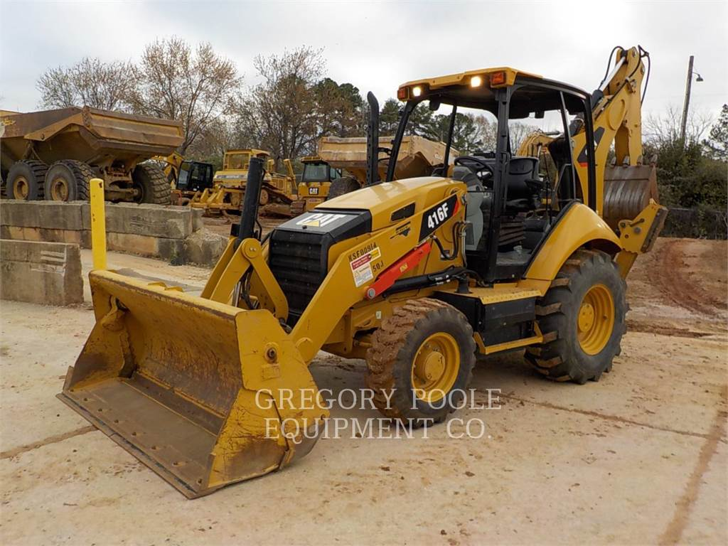 Caterpillar 416FST, baggerlader, Bau-Und Bergbauausrüstung