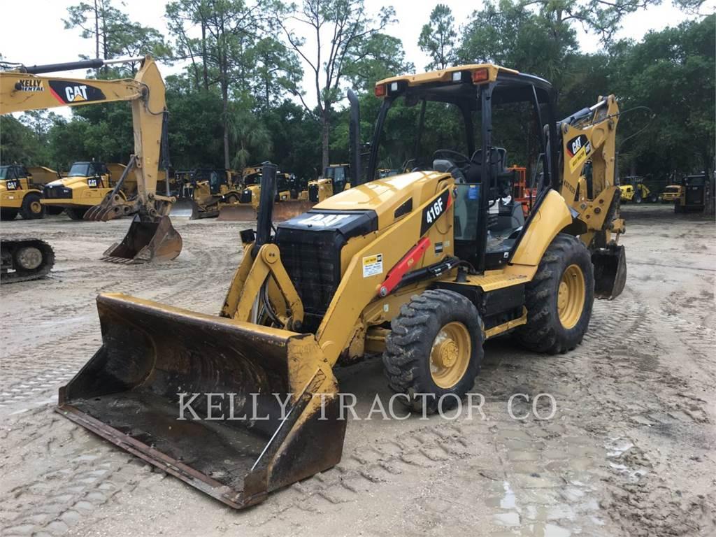 Caterpillar 416FST、反铲装载机、建筑设备