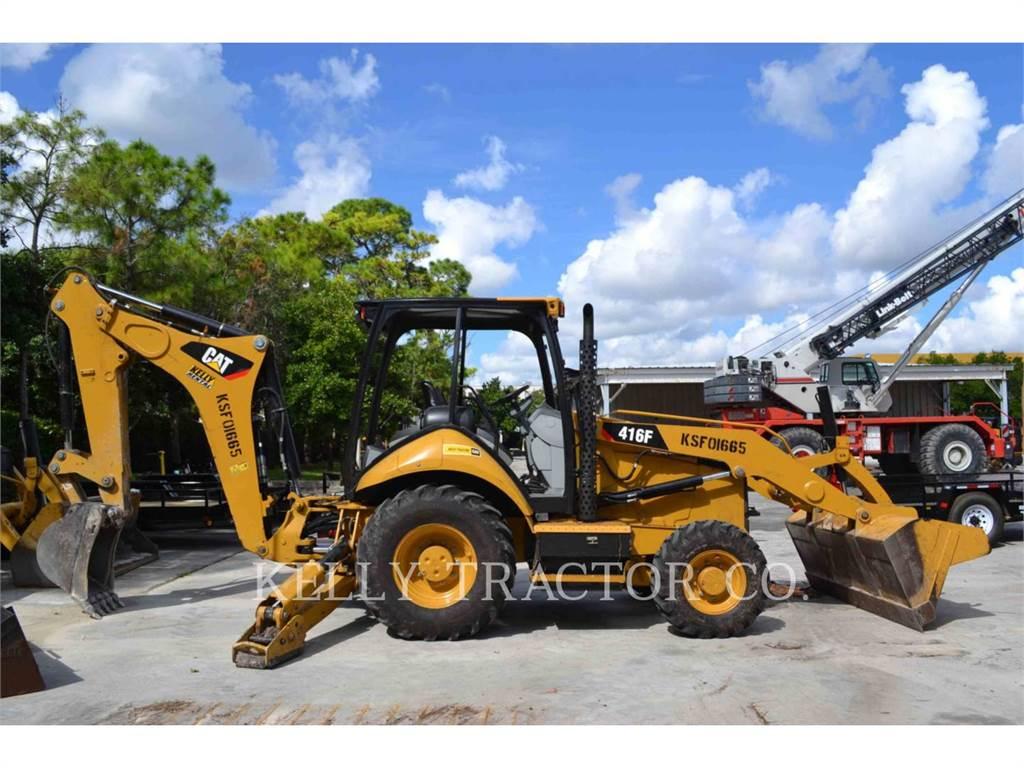 Caterpillar 416FST, retroescavadeiras, Equipamentos Construção