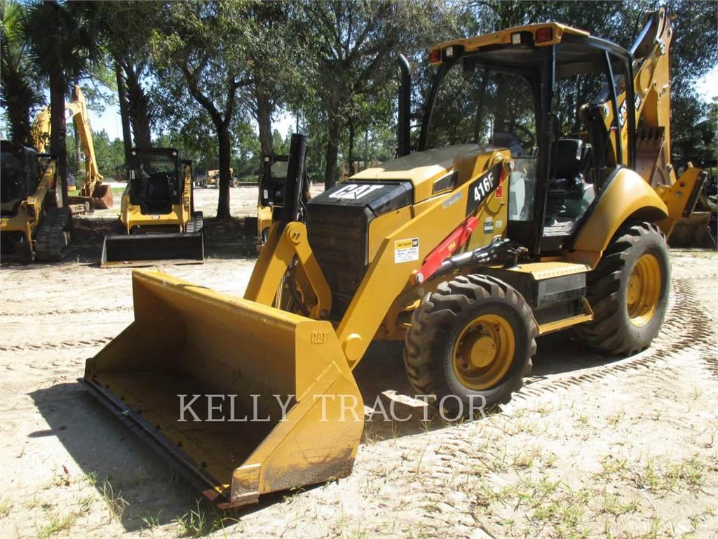 Caterpillar 416FST, chargeuses-pelleteuses, Équipement De Construction