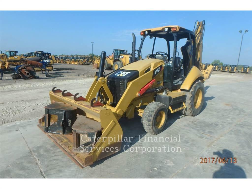 Caterpillar 416FST, koparko-ładowarki, Sprzęt budowlany