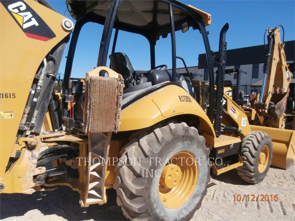 Caterpillar 416FST, retroexcavadoras cargadoras, Construcción