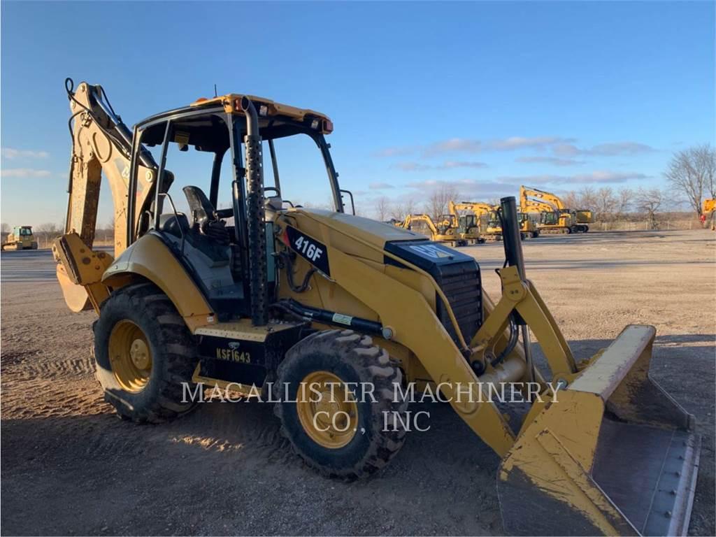 Caterpillar 416FST、バックホーローダ、建設