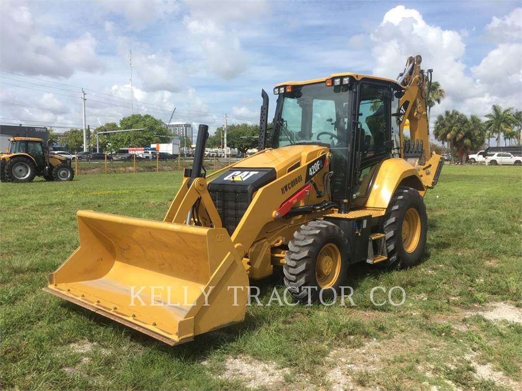 Caterpillar 420 F 2, backhoe loader, Construction