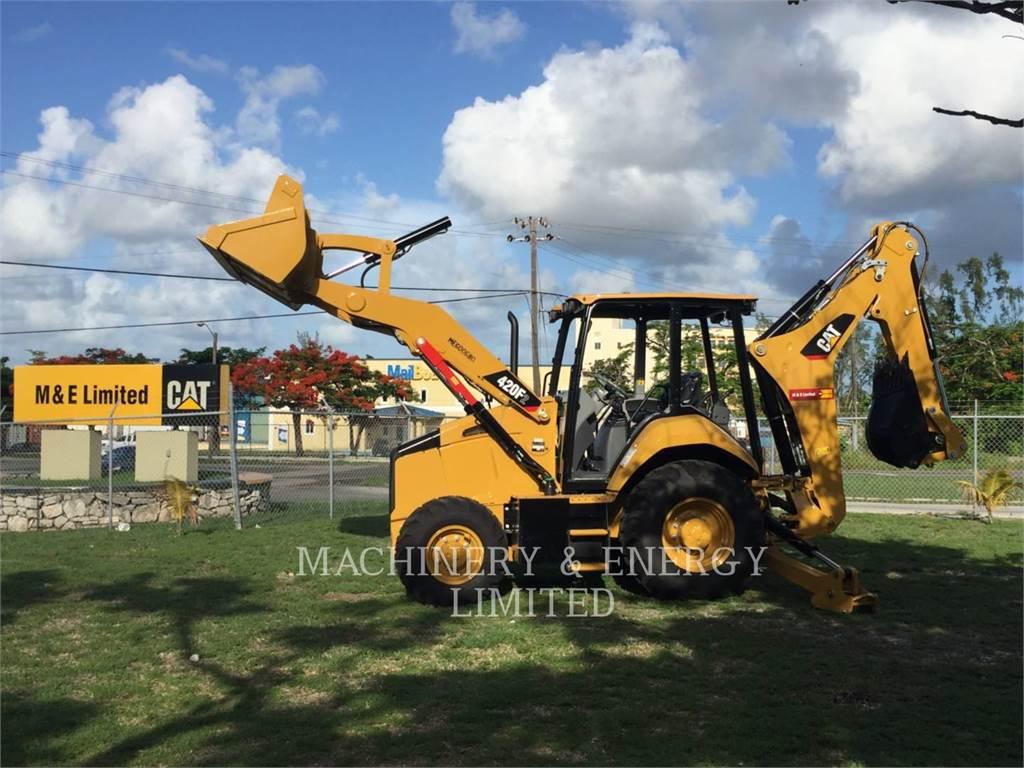 Caterpillar 420 F 2、バックホーローダ、建設