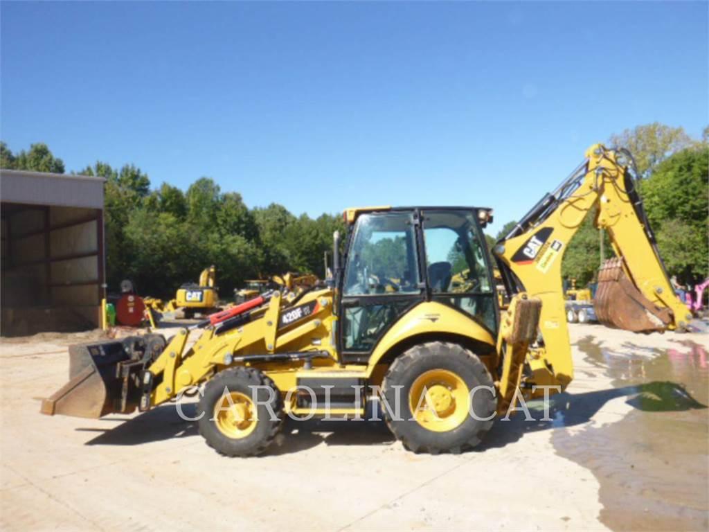 Caterpillar 420 F IT, retroescavadeiras, Equipamentos Construção