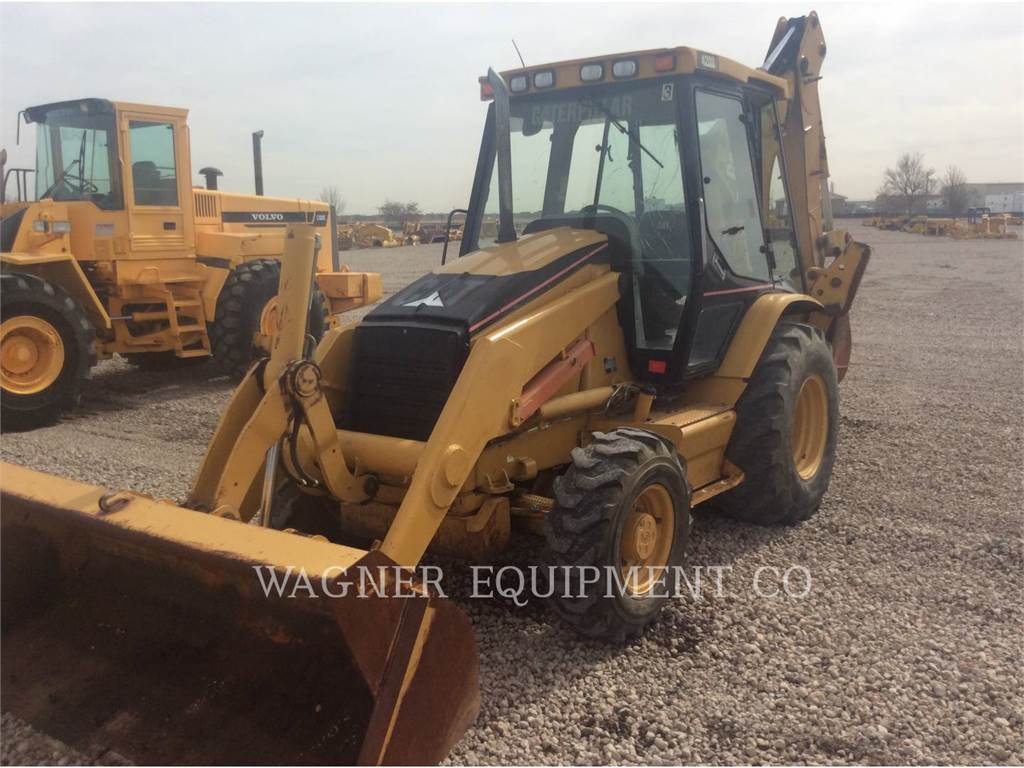 Caterpillar 420D, backhoe loader, Construction