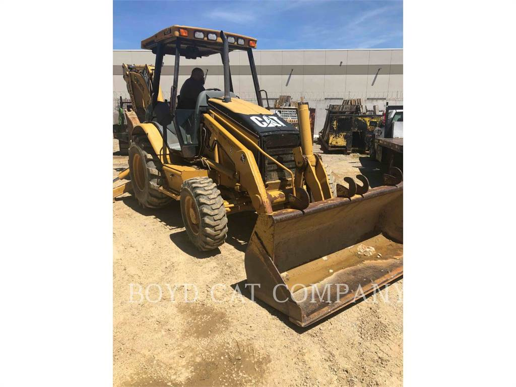Caterpillar 420D, baggerlader, Bau-Und Bergbauausrüstung