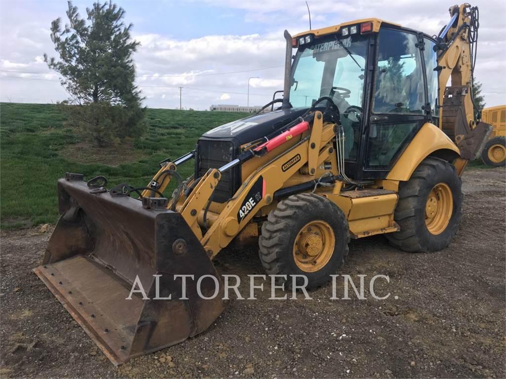 Caterpillar 420E IT - backhoe loader - Construction