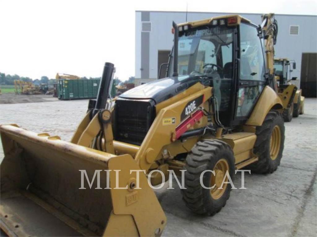 Caterpillar 420E ST, koparko-ładowarki, Sprzęt budowlany