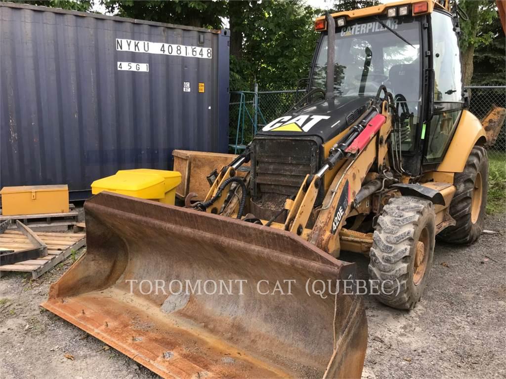 Caterpillar 420EIT, baggerlader, Bau-Und Bergbauausrüstung