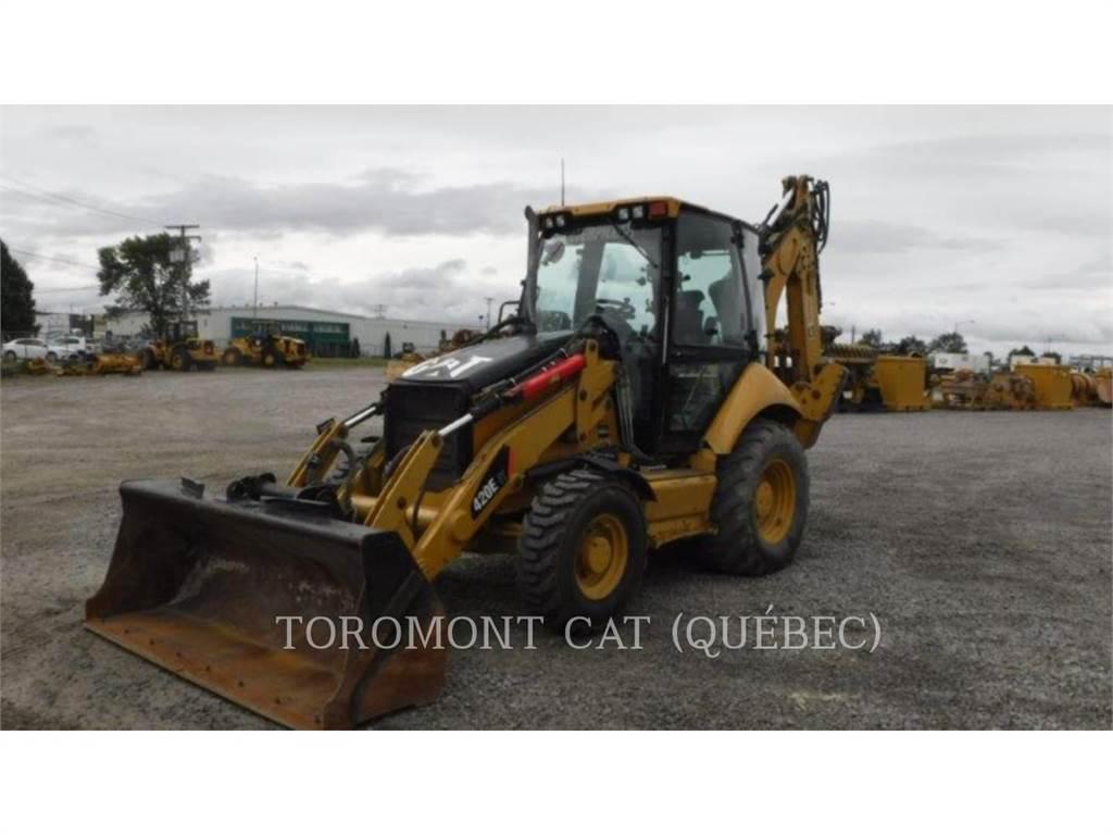 Caterpillar 420EIT, retroexcavadoras cargadoras, Construcción