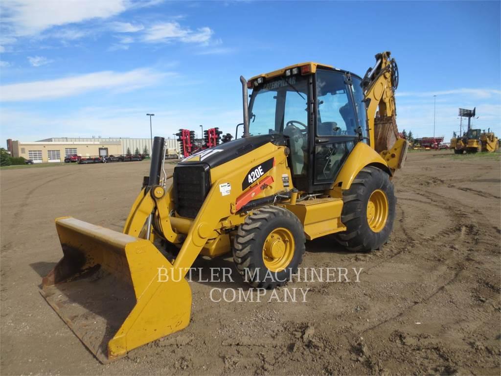 Caterpillar 420EST, buldoexcavatoare, Constructii