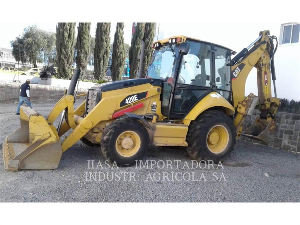 Caterpillar 420EST, baggerlader, Bau-Und Bergbauausrüstung
