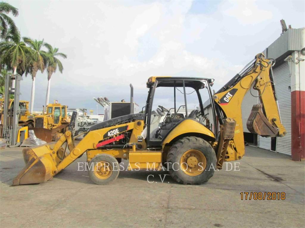 Caterpillar 420EST, retroexcavadoras cargadoras, Construcción