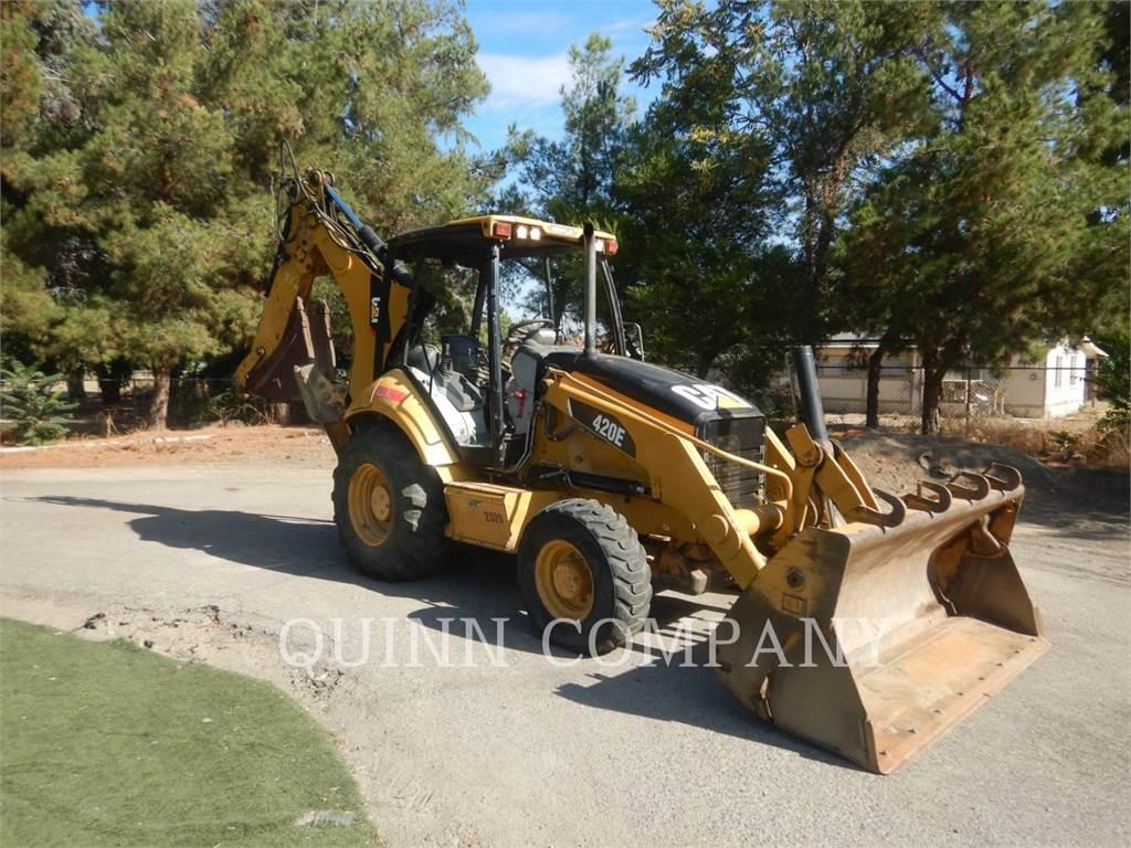 Caterpillar 420EST, chargeuses-pelleteuses, Équipement De Construction