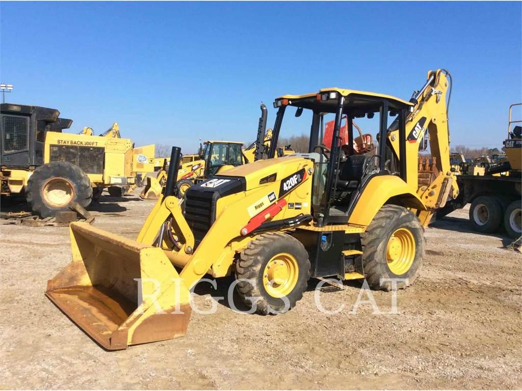 Caterpillar 420F 4, backhoe loader, Construction
