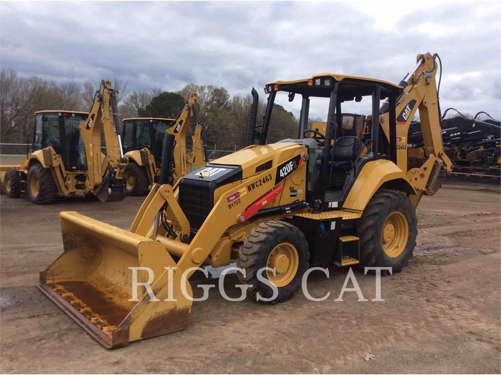 Caterpillar 420F 4, baggerlader, Bau-Und Bergbauausrüstung