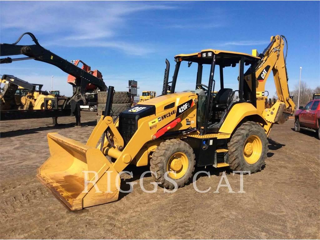 Caterpillar 420F 4, buldoexcavatoare, Constructii