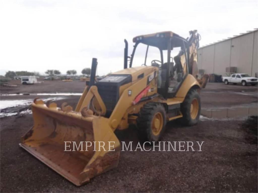 Caterpillar 420F 4E0 P, backhoe loader, Construction