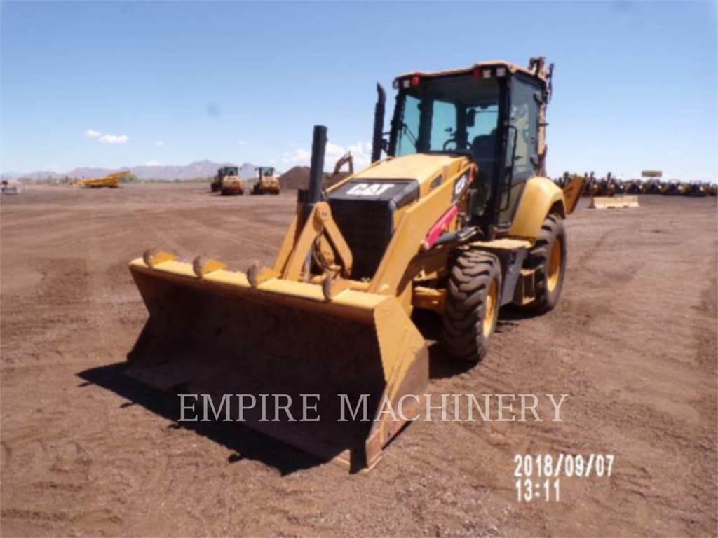 Caterpillar 420F 4EC, backhoe loader, Construction