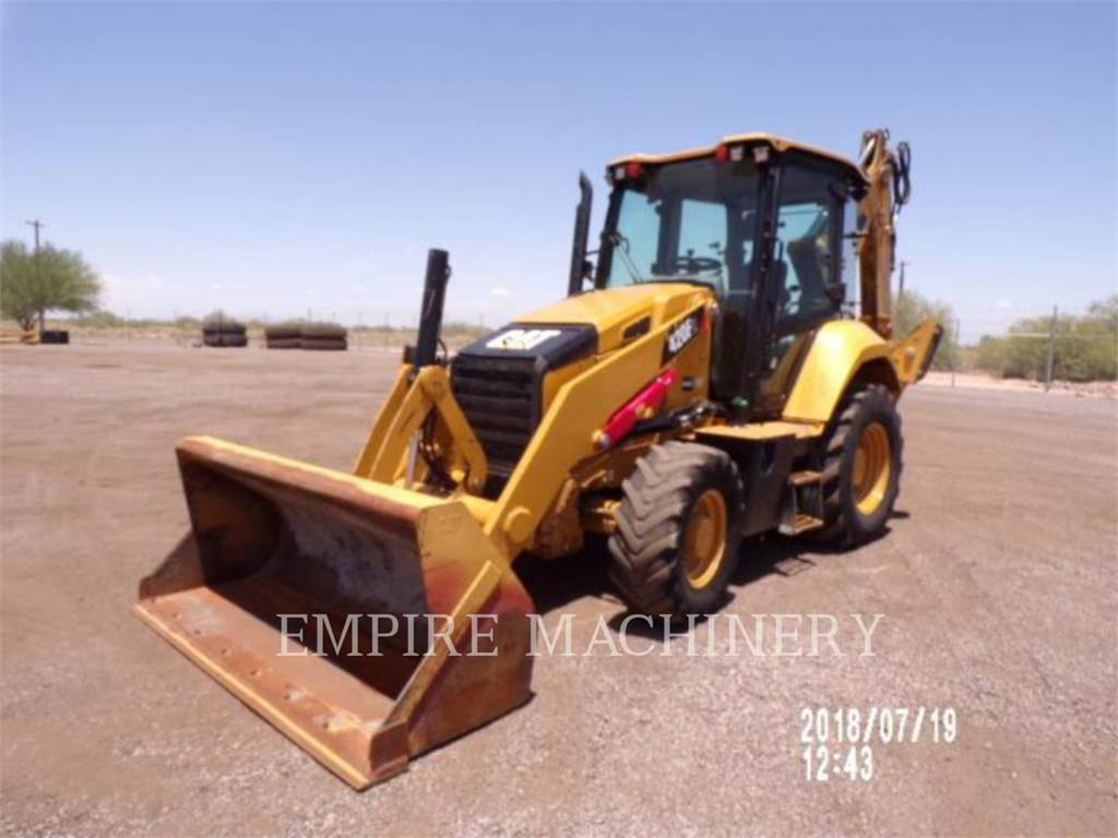 Caterpillar 420F 4ECP, buldoexcavatoare, Constructii