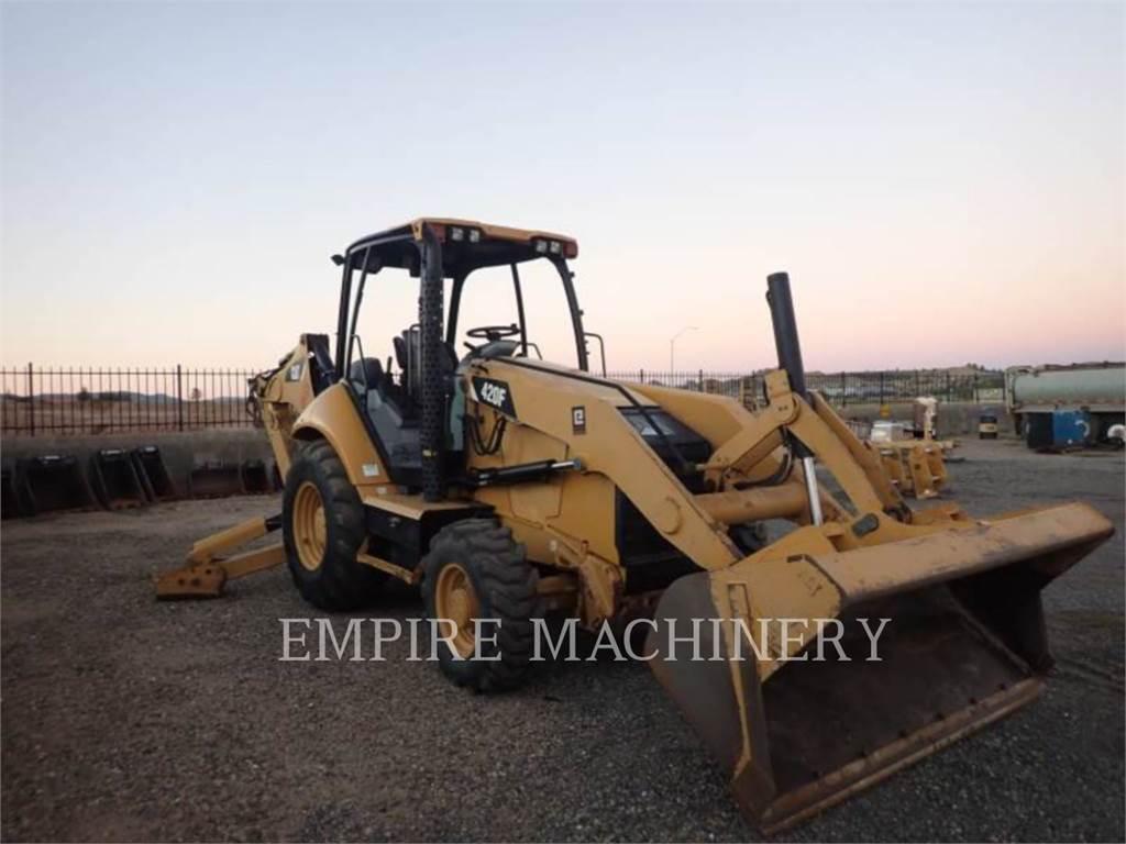 Caterpillar 420F 4EO, retroescavadeiras, Equipamentos Construção