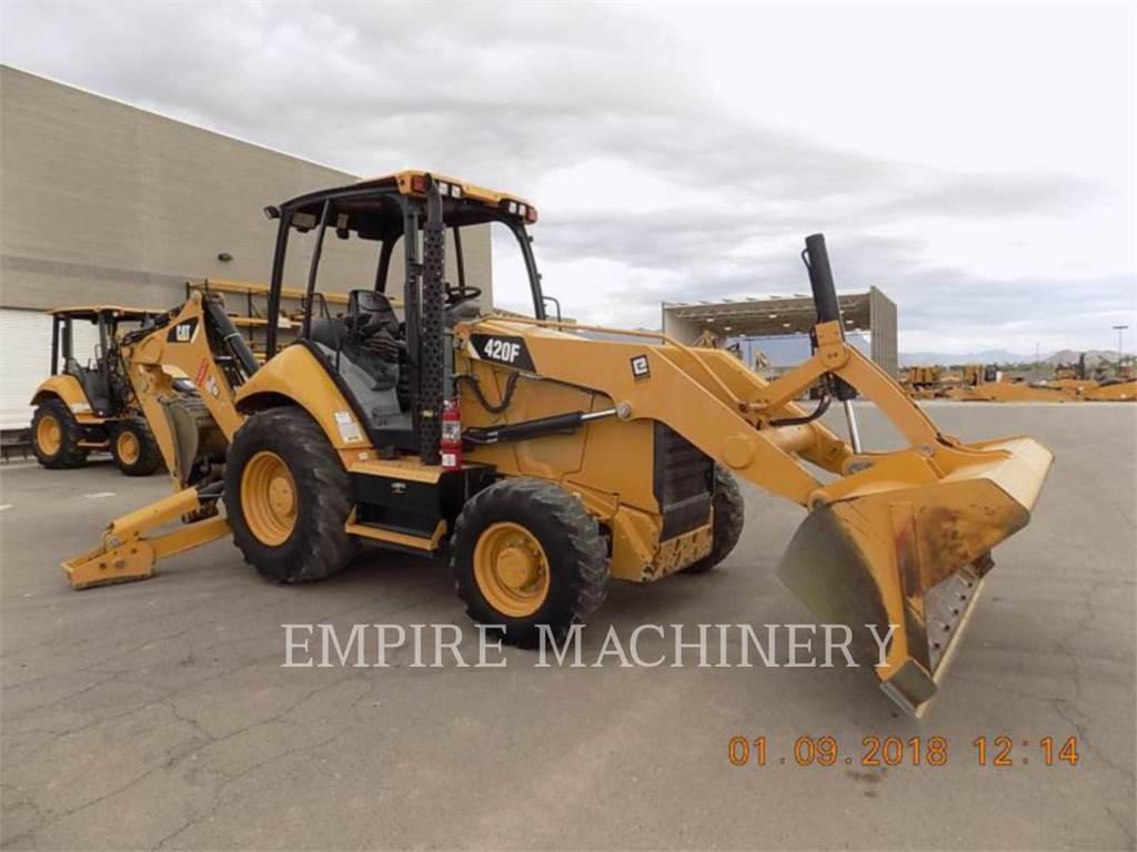 Caterpillar 420F 4EO, chargeuses-pelleteuses, Équipement De Construction