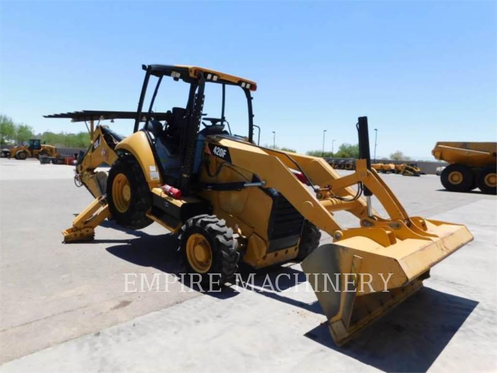 Caterpillar 420F 4EO, retroexcavadoras cargadoras, Construcción