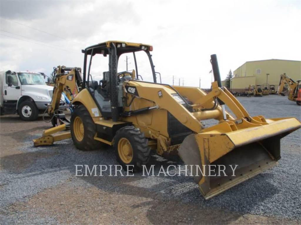 Caterpillar 420F 4EO P, buldoexcavatoare, Constructii