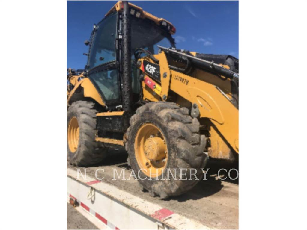Caterpillar 420F 4ETCB, backhoe loader, Construction