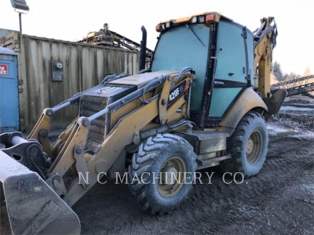 Caterpillar 420F 4ETCB, retroexcavadoras cargadoras, Construcción