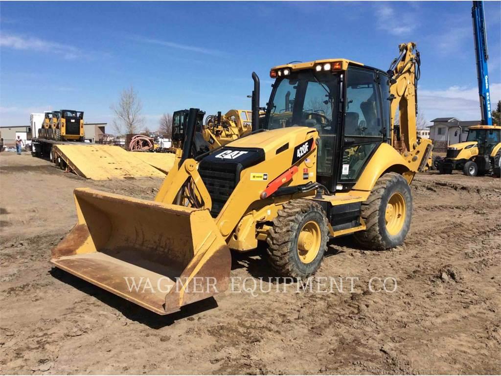 Caterpillar 420F 4WDE, retroescavadeiras, Equipamentos Construção