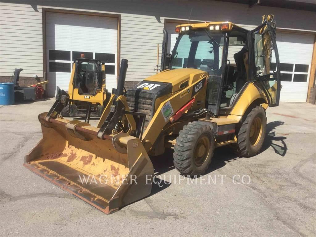 Caterpillar 420F 4WDE, baggerlader, Bau-Und Bergbauausrüstung