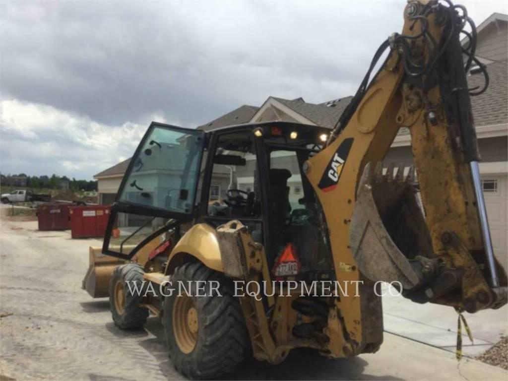 Caterpillar 420F 4WDE, backhoe loader, Construction