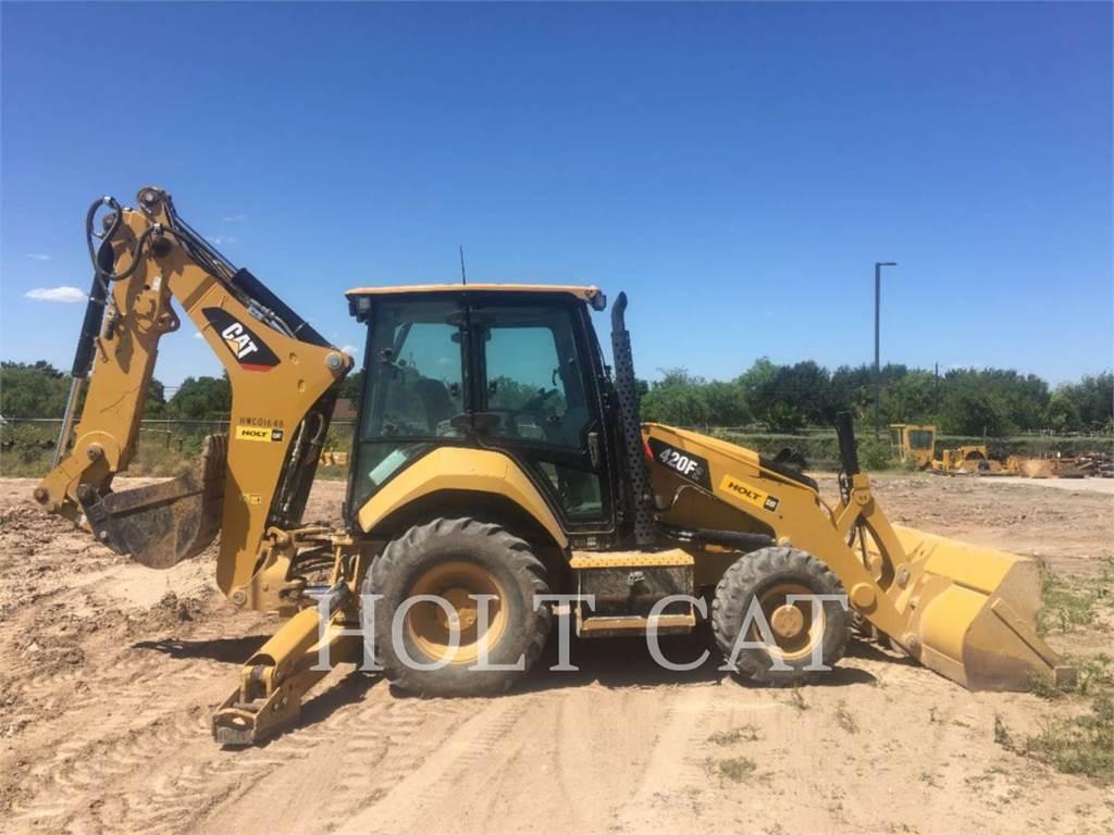 Caterpillar 420F C4E、推土机、建筑设备