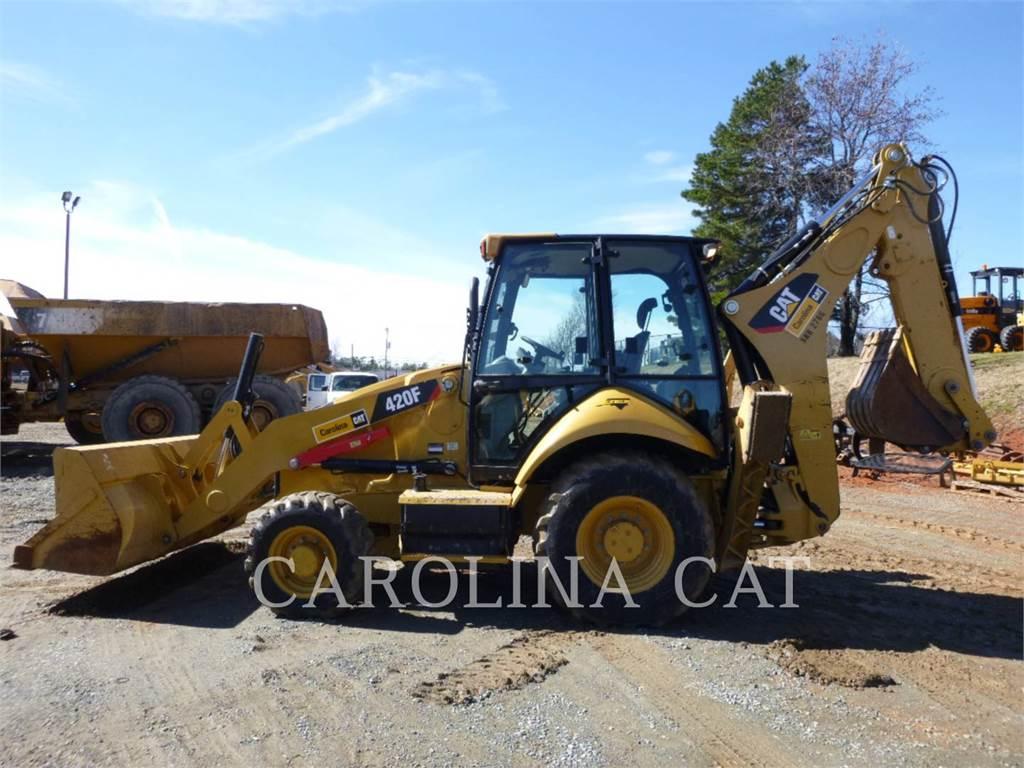 Caterpillar 420F, baggerlader, Bau-Und Bergbauausrüstung