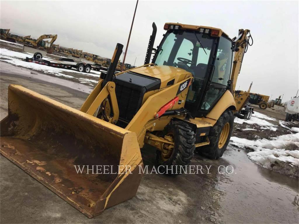 Caterpillar 420F E, baggerlader, Bau-Und Bergbauausrüstung
