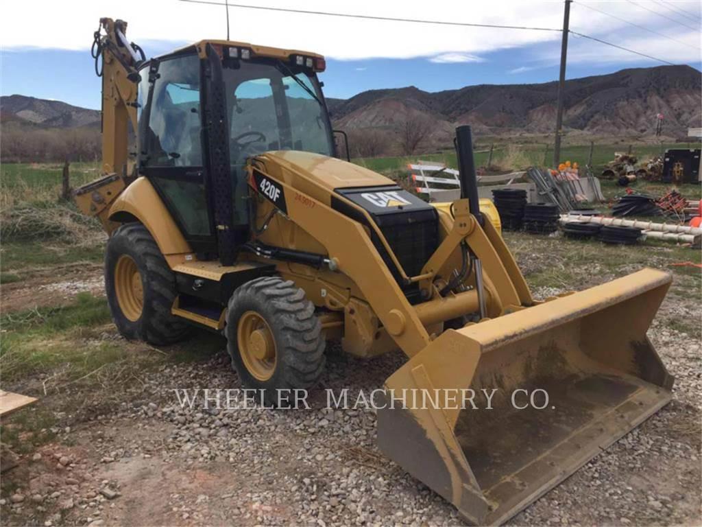 Caterpillar 420F E, koparko-ładowarki, Sprzęt budowlany