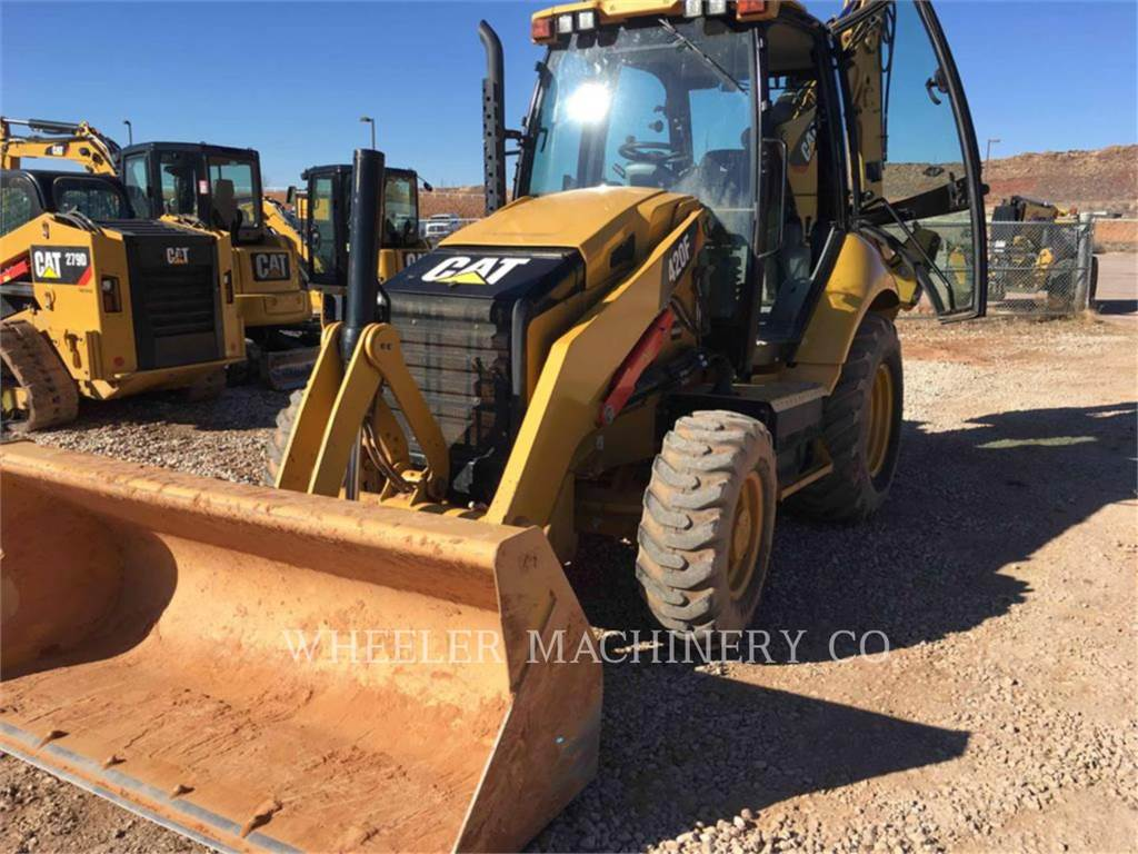 Caterpillar 420F E, retroexcavadoras cargadoras, Construcción